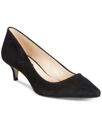 I.N.C. Danne Kitten-Heel Pumps Created for Macys Womens Shoes
