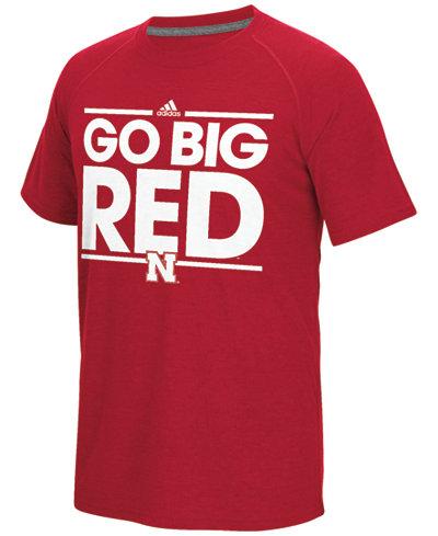 adidas Men's Nebraska Cornhuskers Dassler Local T-Shirt