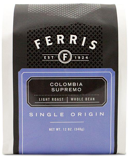 Ferris Colombia Supremo Light Roast Coffee