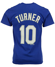 Majestic Men's Justin Turner Los Angeles Dodgers Player T-Shirt