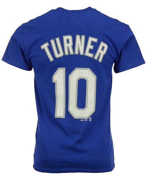 ... Majestic Men s Justin Turner Los Angeles Dodgers Player T-Shirt ... 2894d8054e1