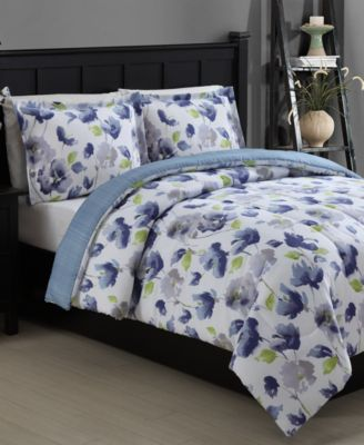 Emily Reversible 2-Piece Twin Comforter Set