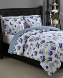 CLOSEOUT! Emily 3-Pc. Reversible Comforter Set, Created for Macy's