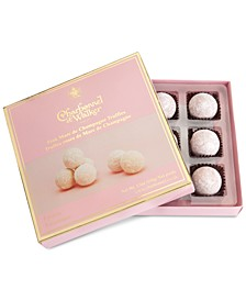Pink Marc de Champagne Truffle Gift Box