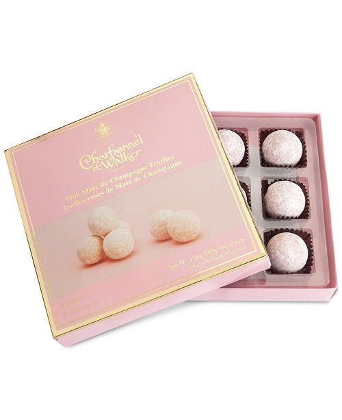 Charbonnel et Walker Pink Marc de Champagne Truffle Gift Box