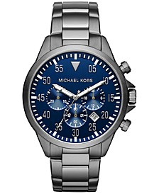 Men's Chronograph Gage Two-Tone Stainless Steel Bracelet Watch 45mm MK8443