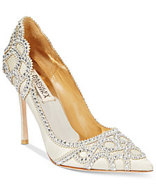Badgley Mischka Rouge Evening Pumps