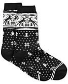 Charter Club Womens Norwegian Reindeer Socks Created for Macys