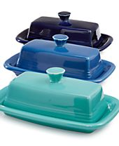 Fiesta Extra Large Covered Butter Dish