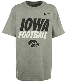 Nike Iowa Hawkeyes Practice T-Shirt, Big Boys