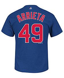 Majestic Men's Jake Arrieta Chicago Cubs Player T-Shirt