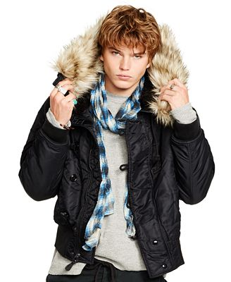 Denim & Supply Ralph Lauren Men's Down Bomber Jacket - Coats ...