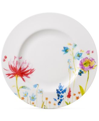 Amnut Flowers Collection Bone China Dinner Plate