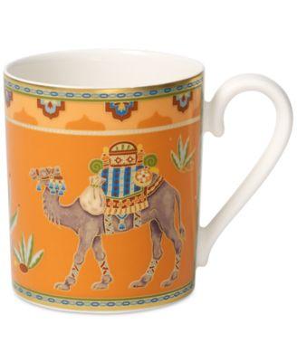 Samarkand Mandarin Collection Porcelain Mug