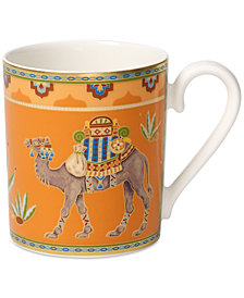 Villeroy & Boch Samarkand Mandarin Collection Porcelain Mug