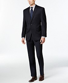 Solid Navy Slim-Fit Suit