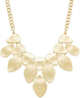 Image of INC International Concepts Bib Necklace, Only at Macy's