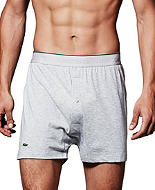 Lacoste Supima® Cotton Knit 3-Pack Boxers