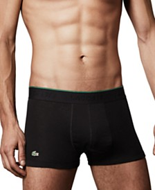 Lacoste Supima® Cotton 3-Pack Trunks