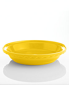 "Fiesta Sunflower 10.25"" Deep Dish Pie Baker"