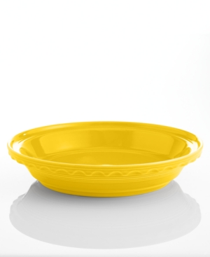 """Fiesta Sunflower 10.25"""" Deep Dish Pie Baker"""