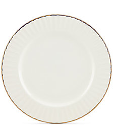 Marchesa by Lenox Dinnerware Ironstone Shades of White Party Plate