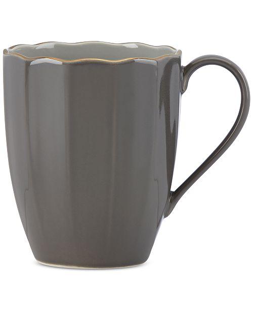 Marchesa by Lenox Dinnerware Ironstone Shades of Grey Mug