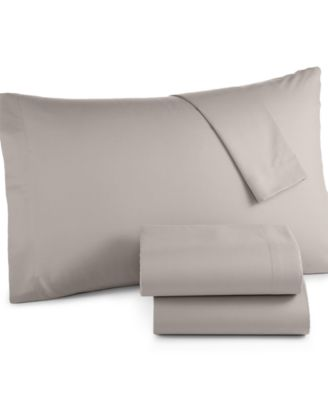 Image of Microfiber Twin XL 3-Pc Sheet Set, Created for Macy's