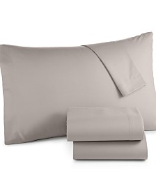 Microfiber Twin XL 3-Pc Sheet Set, Created for Macy's