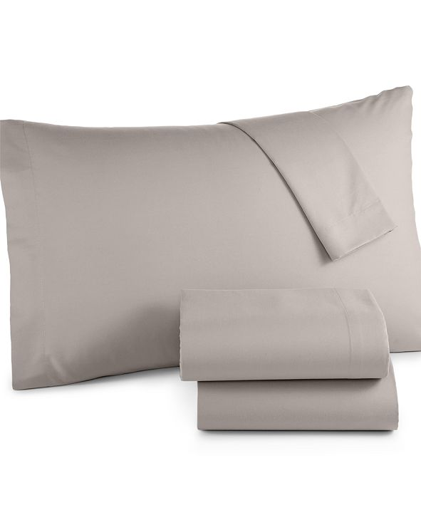 Jessica Sanders Microfiber King 4-Pc Sheet Set, Created for Macy's