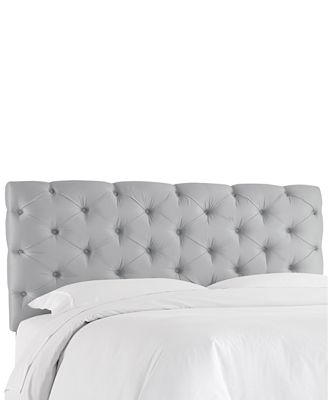 hyde park full horizontal tufted headboard, quick ship - furniture