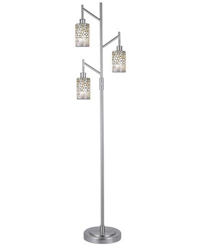 Dale Tiffany Alps 3-Light Mosaic Floor Lamp