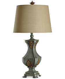 StyleCraft Traditional Balister Hand Carved Table Lamp