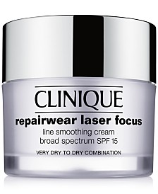 Repairwear Laser Focus Line Smoothing Cream SPF 15 - Very Dry to Dry Combination, 1.7 oz