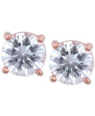 Image of Anne Klein Crystal Stud Earrings
