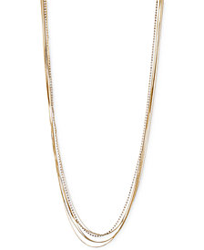 Iona & lilly Gold- & Silver-Tone Chain Necklace