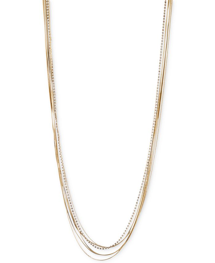 lonna & lilly - Gold- & Silver-Tone Chain Necklace
