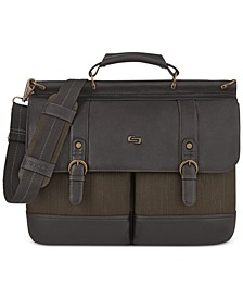 "Bradford 15.6"" Flapover Laptop Briefcase"