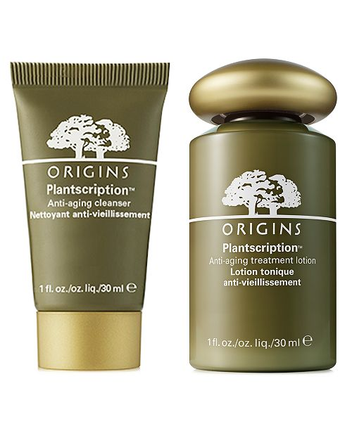 Origins Receive A Free 2pc Plantscription Duo With 75 Origins Purchase Reviews Gifts With Purchase Beauty Macy S