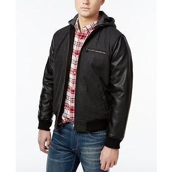 Levis Faux-Leather Mens Jacket
