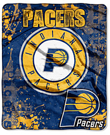 Northwest Company Indiana Pacers Raschel Shadow Blanket