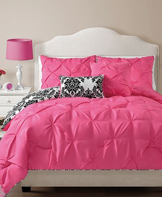 Olivia Reversible 4 Piece Twin Comforter Set Bed In A