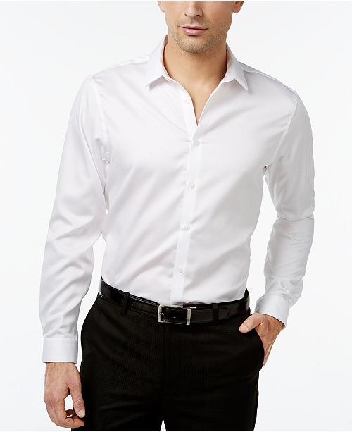 INC International Concepts I.N.C. Men's Jayden Non-Iron Shirt, Created for Macy's
