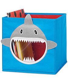 Whitmor Kids Shark Collapsible Cube
