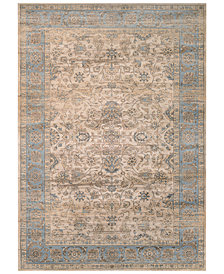 CLOSEOUT! Couristan HARAZ HAR1143 Beige/Blue Area Rugs