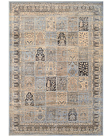 "CLOSEOUT! Couristan HARAZ HAR999 Blue 2' x 3'7"" Area Rug"