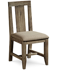 Canyon Dining Panel Back Chair, Created for Macy's