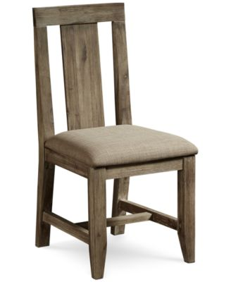 Canyon Dining Panel Back Chair, Created For Macyu0027s