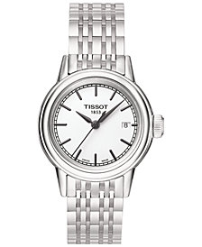 Tissot Women's Swiss Carson Stainless Steel Bracelet Watch 29mm T0852101101100