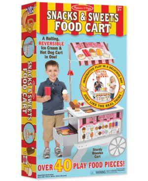 Melissa and Doug Kids' Snacks & Sweets Food Cart 2555636